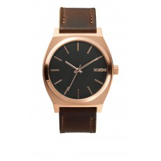 RELOJ NIXON TIME TELLER LEATHER ROSA