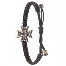 PULSERA MALTA DIAMOND BLACK