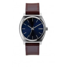 RELOJ NIXON TIME TELLER LEATHER AZUL
