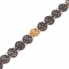 PULSERA COOKIES GOLD