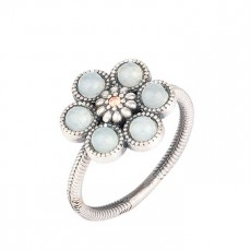 ANILLO SUNFIELD FLOR CALCEDONIA