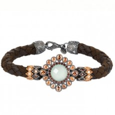 PULSERA SUNFIELD CROSS CALCEDONIA