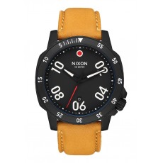 RELOJ NIXON RANGER LEATHER GOLDENROD