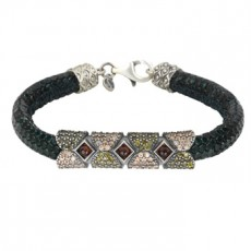 PULSERA SUNFIELD METALLIC GRANATE