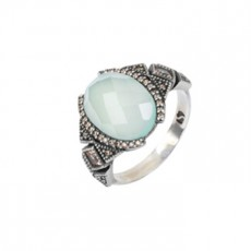 ANILLO SUNFIELD VINTAGE CALCEDONIA