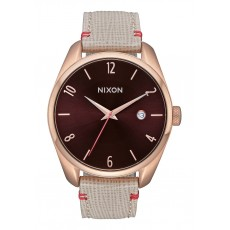 RELOJ NIXON BULLET LEATHER ROSE GOLD