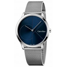 RELOJ CK MINIMAL BLUE LOG