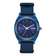 RELOJ NIXON TIME TELLER ACETATE ALL BLUE
