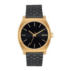 RELOJ NIXON TIME TELLER GOLD/ BLACK SUNRAY