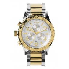 RELOJ NIXON 42-20 CHRONO SILVER/LIGHT GOLD