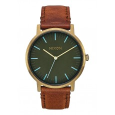 RELOJ NIXON PORTER LEATHER BRASS/SURPLUS/TAN