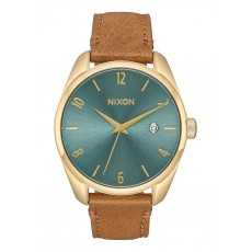 RELOJ NIXON THE BULLET LEATHER TURQUOIS