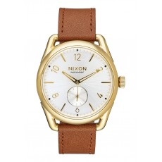 RELOJ NIXON C39 LEATHER WHITE