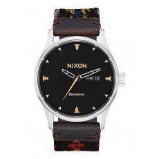 RELOJ NIXON SENTRY LEATHER MIDNIGHT EYES