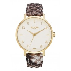 RELOJ NIXON ARROW LEATHER GOLD TAUPE