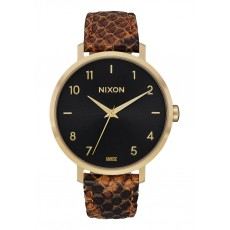 RELOJ NIXON ARROW LEATHER GOLD RUST