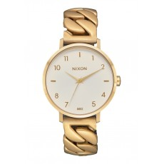 RELOJ NIXON ARROW CHAIN GOLD VANILLA