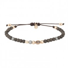 PULSERA SUNFIELD HEMATITES  MARRON