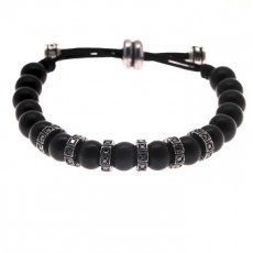 PULSERA TOPA WOOD BLACK