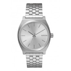 RELOJ NIXON TIME TELLER ALL SILVER