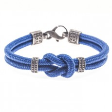 PULSERA SIMPLE KNOT AZUL