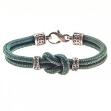 PULSERA SIMPLE KNOT VERDE