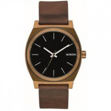 RELOJ NIXON TIME TELLER BRASS BLACK BROWN