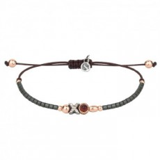 PULSERA SUNFIELD  GRANATE