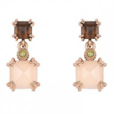 PENDIENTES SUNFIELD CLAW PINK
