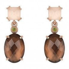 PENDIENTES SUNFIELD COMBINED BROWN