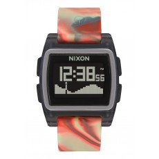 RELOJ NIXON THE BASE TIDE JELLYFISH ORANGE