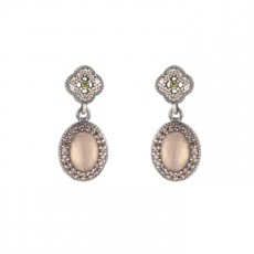PENDIENTES SUNFIELD MOUVEMENT ROSE