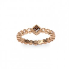 ANILLO SUNFIELD TRIANGLE ROSA