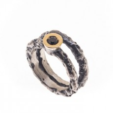 ANILLO LUMPS BLACK G