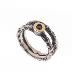 ANILLO LUMPS BLACK M