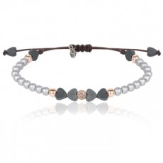 PULSERA SUNFIELD LOVE PLATA I