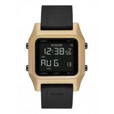 RELOJ NIXON STAPLE BLACK & GOLD