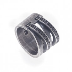 ANILLO SEWING NEGRO DOUBLE