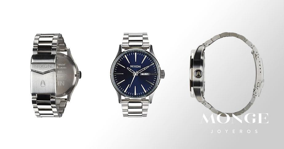 principales caracteristicas de los relojes nixon