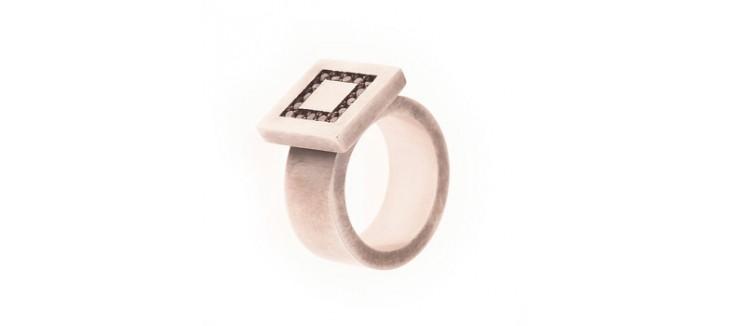 anillos elegantes para los eventos de navidad