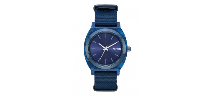 reloj-nixon-time-teller-acetate-all-blue