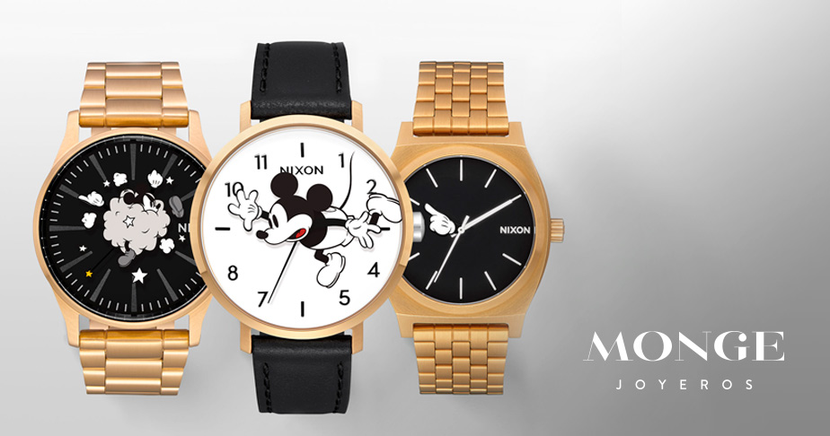 relojes mickey mouse