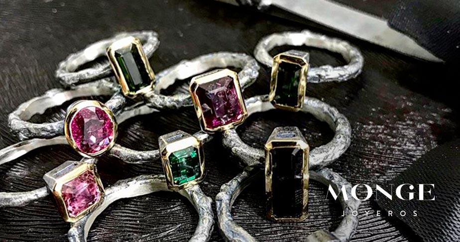 anillos con diseños exclusivos
