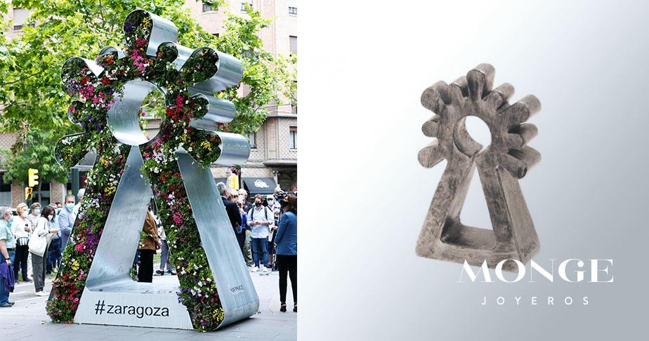 figura virgen del pilar calles zaragoza