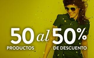 50 Productos al 50% de descuento